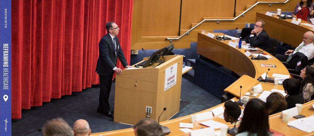 Zeev Speaking At Harvard